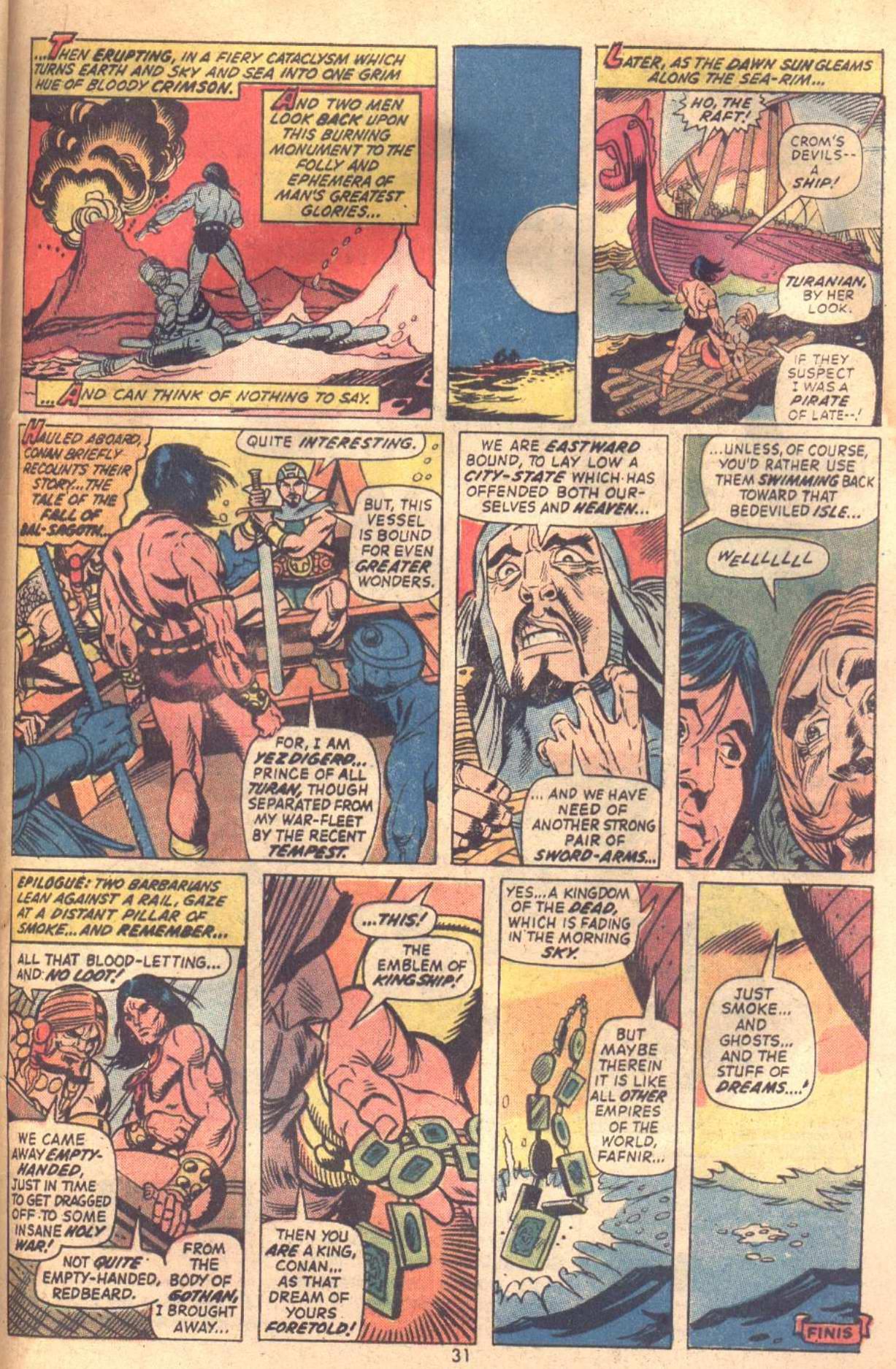 Conan the Barbarian (1970) Issue #18 #30 - English 23