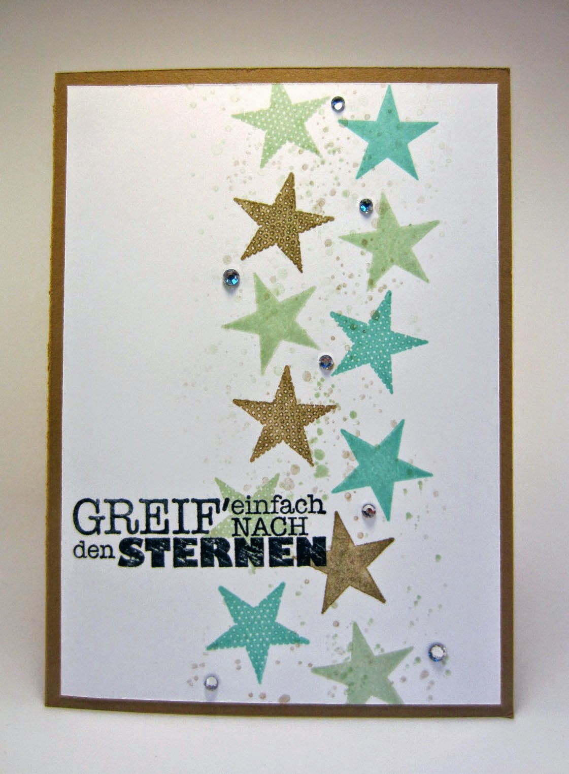 Stampin' Up! Simply Stars, alles nur Sprüche, In Color 2013-2015