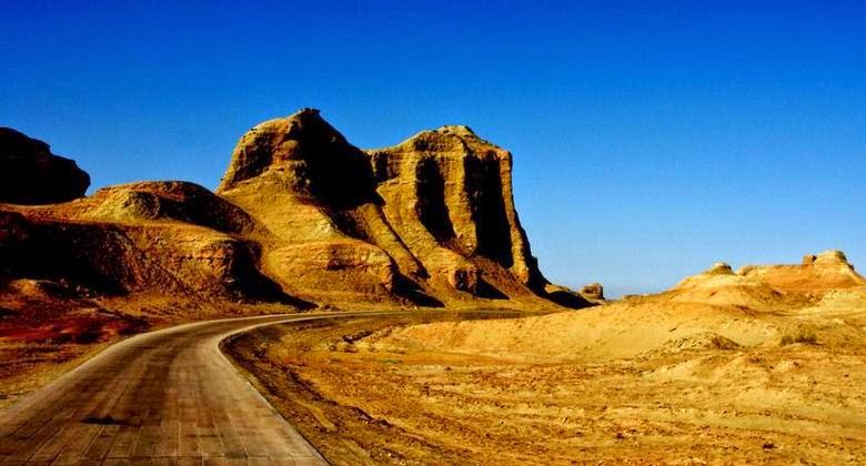 Moguicheng, Kota Iblis yang Terletak di Kota Xinjiang China