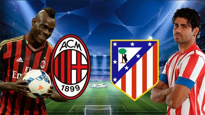 Milan vs Atletico de Madrid