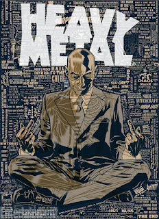Grant Morrison Announced as new Editor-in-Chief of Heavy Metal Magazine