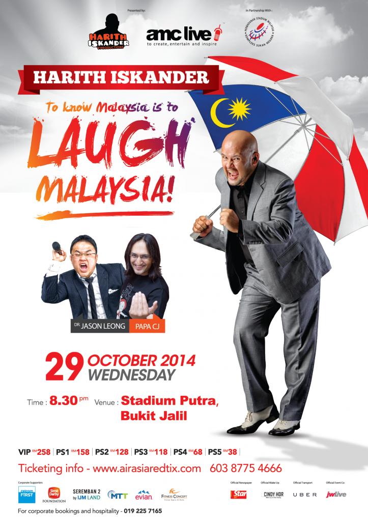 Harith Iskandar, To Know Malaysia Is To Laugh (2014), Tonton Drama Online, Tonton Movie Online, Tonton Komedi Online, Tonton TV Online, Tonton Live