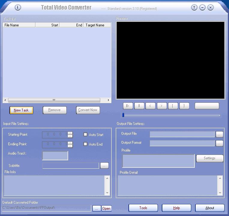 Software Yang Digunakan Adalah Total Converter Disingkat Tvc Selain Untuk Convert File Ke Mp Tvc Juga Bisa Digunakan Untuk Convert File