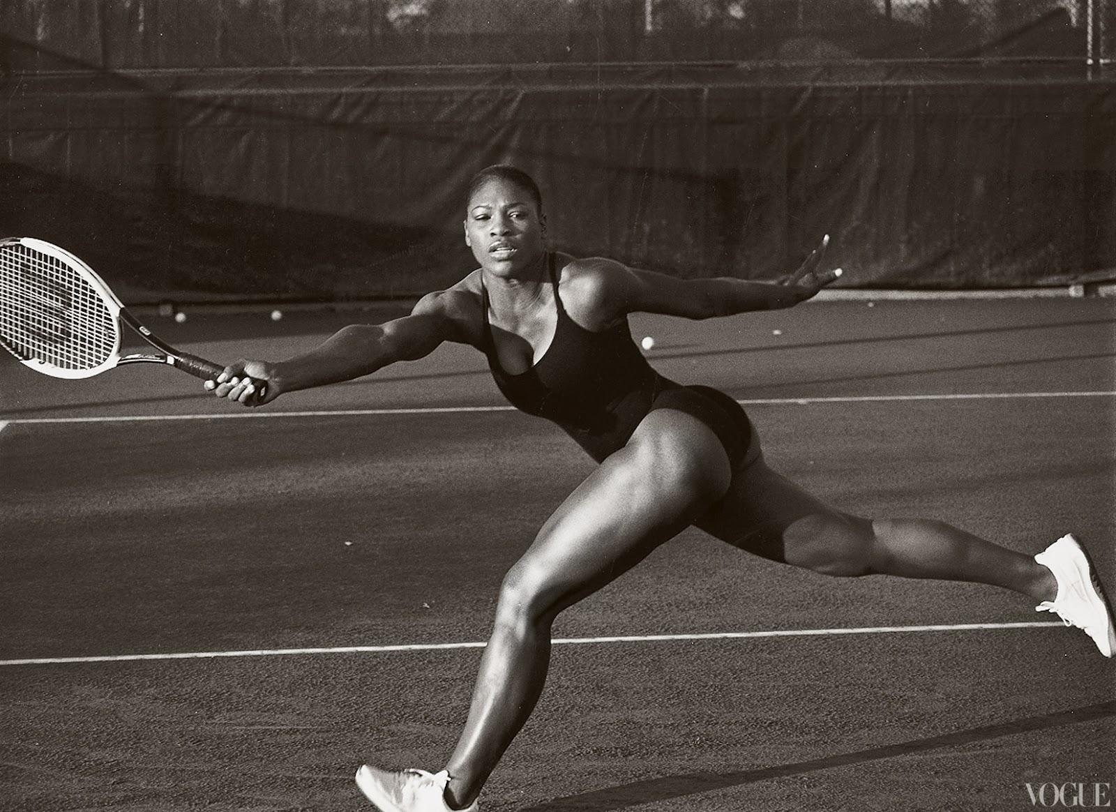 Serena williams body