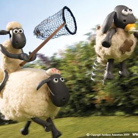 Kartun Shaun the Sheep