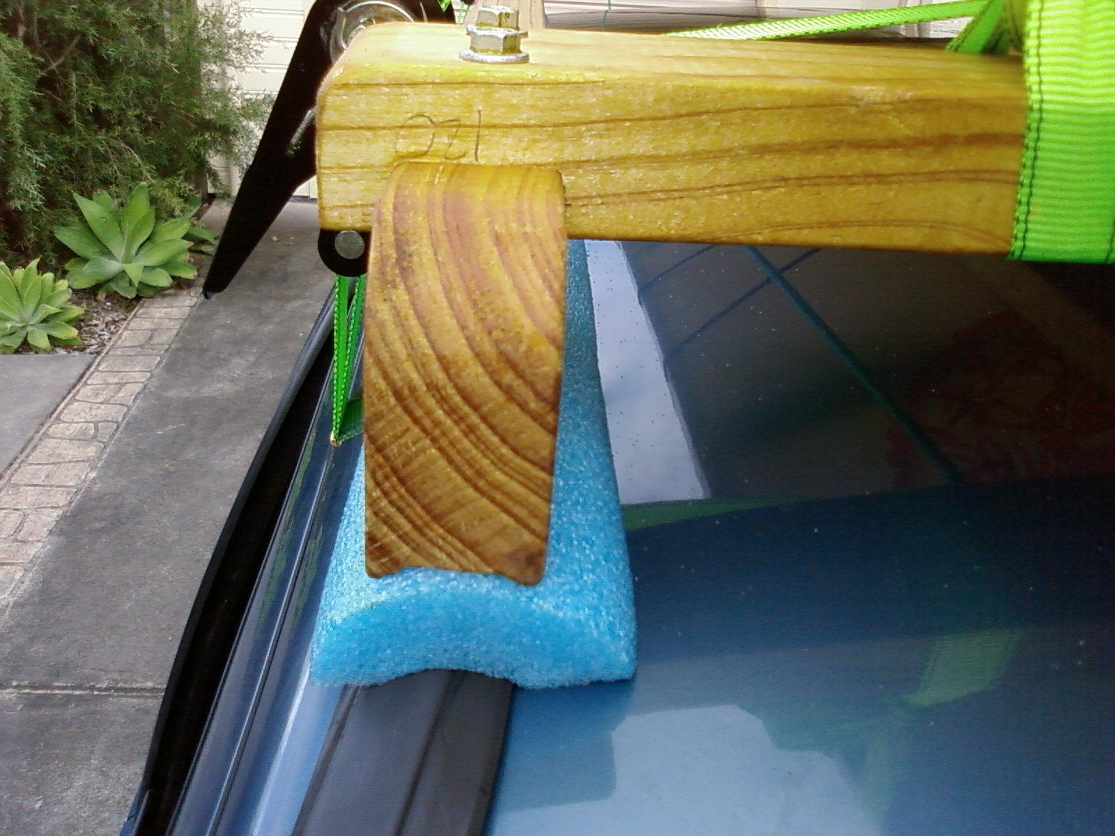 Feral paddler: Home made roof racks