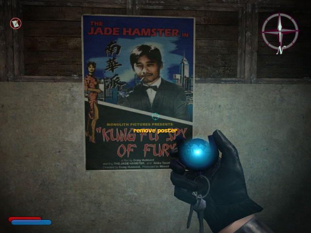 The Jade Hamster in Kung Fu Spy of Fury poster