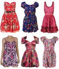 Vestido florais