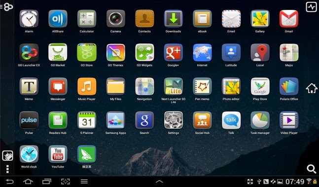 GO Launcher EX android apk - Screenshoot