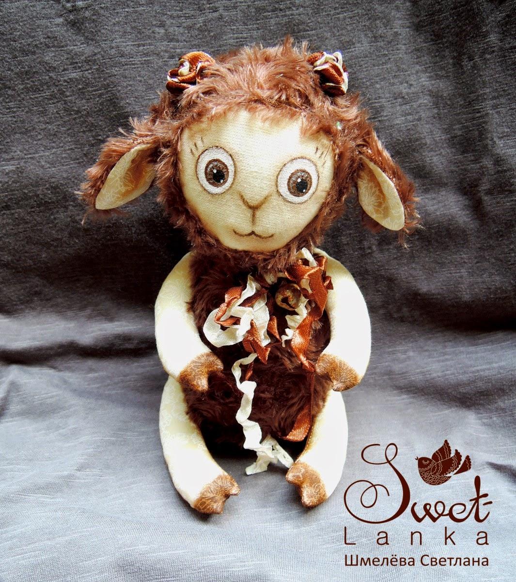 овечка молочный шоколад