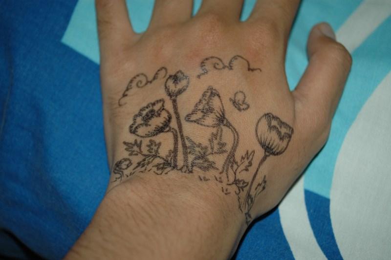 Life In Cartoon Motion Tattoo
