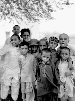 Rural boys of Pakistan Madogrpahy