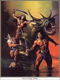 Guerreras Guerreros y Monstruos en Dibujos