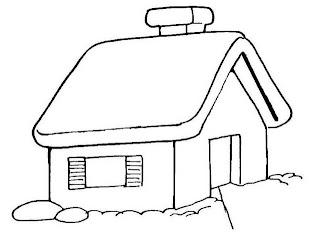 Riscos para pintura de casinhas