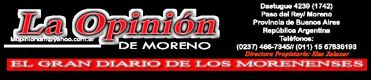 La Opinión de Moreno
