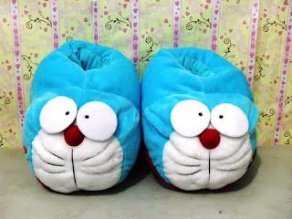 Sepatu Doraemon Lucu