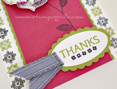Handmade Greeting Card Decorative Sentiment
