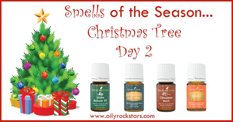 Smells of the Season- Day 2 (Christmas Tree) - Oily Rockstars