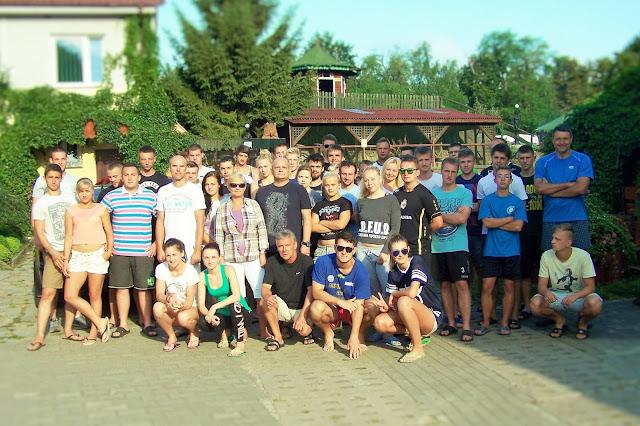 Studenci i opiekunowie Letniego Obozu Szkoleniowego w Goszczanowie 2015!
