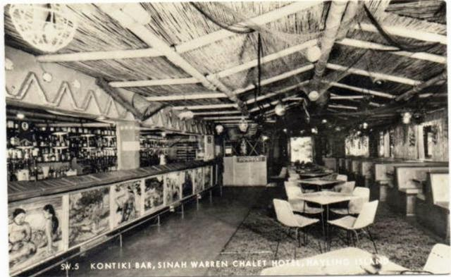 The Kontiki Bar at Sinah Warren