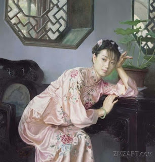Sobrios Retratos de Mujeres Chinas en el Realismo