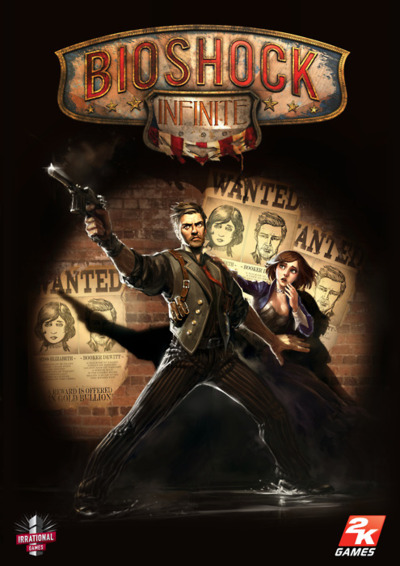 Bioshock infinite official front box cover art