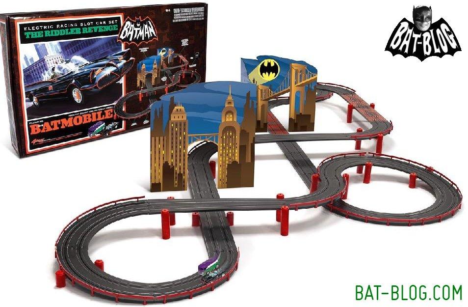 Batman  Tv Slot Car Race Track Set