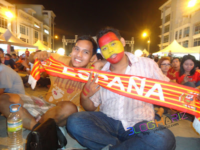 2 Final Euro 2012 di I City Shah Alam