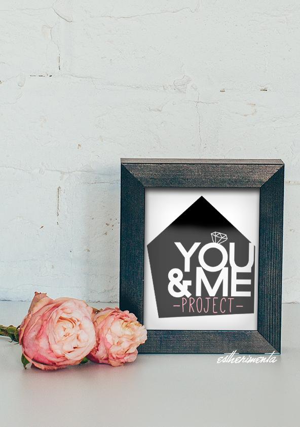 You&Me Project logo por estherimenta