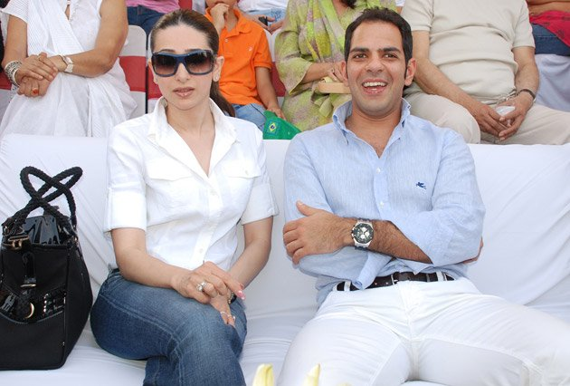 Karisma Kapur and Sunjay Kapur