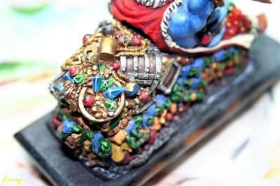 Pintura de las gemas de Grasientus Dientetoro