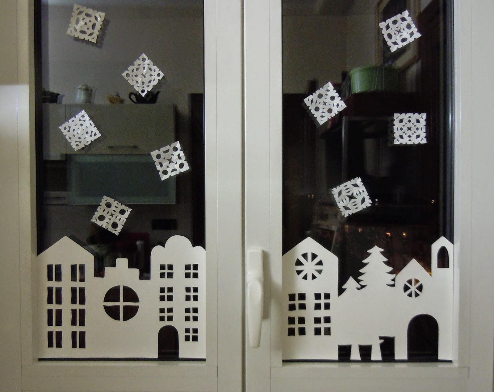 Decorazione Finestre Per Natale : Gioka con leo addobbo natalizio per finestre