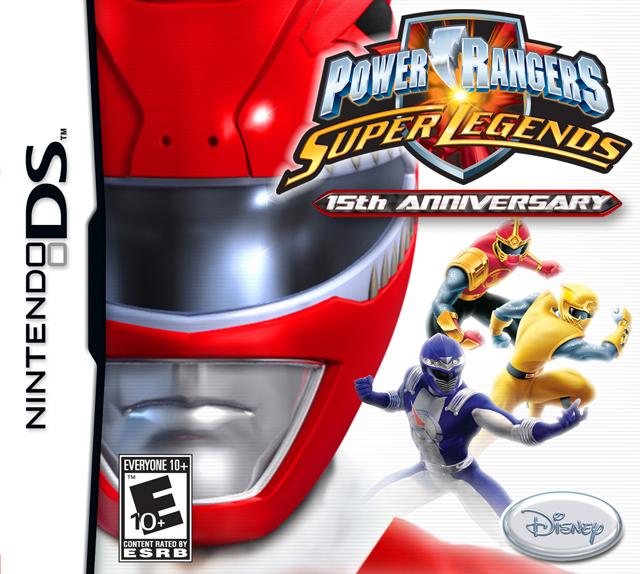 Power Rangers: Super Legends NDS Download ITA