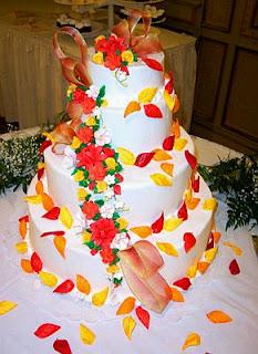 Tortas de Boda Multicolor, parte 1