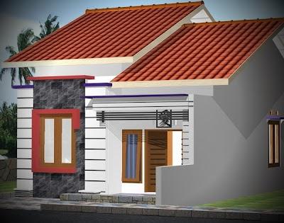 desain rumah minimalis ukuran 6 x 12m