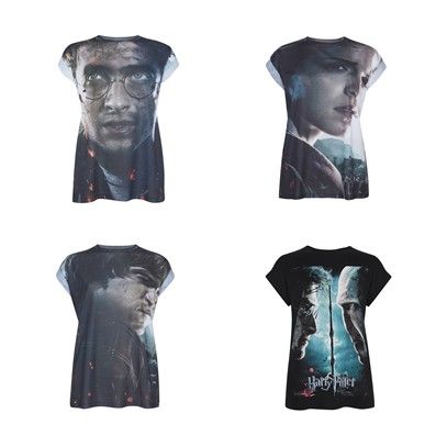 Camisetas Harry Potter Hermione Ron