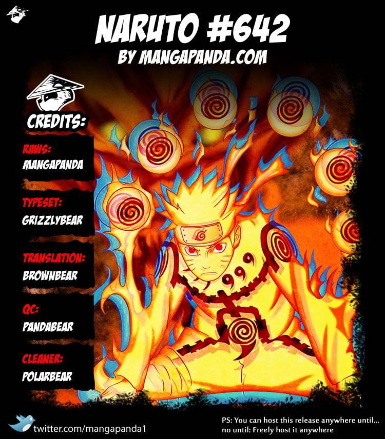 Naruto 642 - Page 1