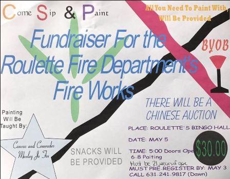 5-4 Roulette Fire Dept. Fireworks Fundraiser