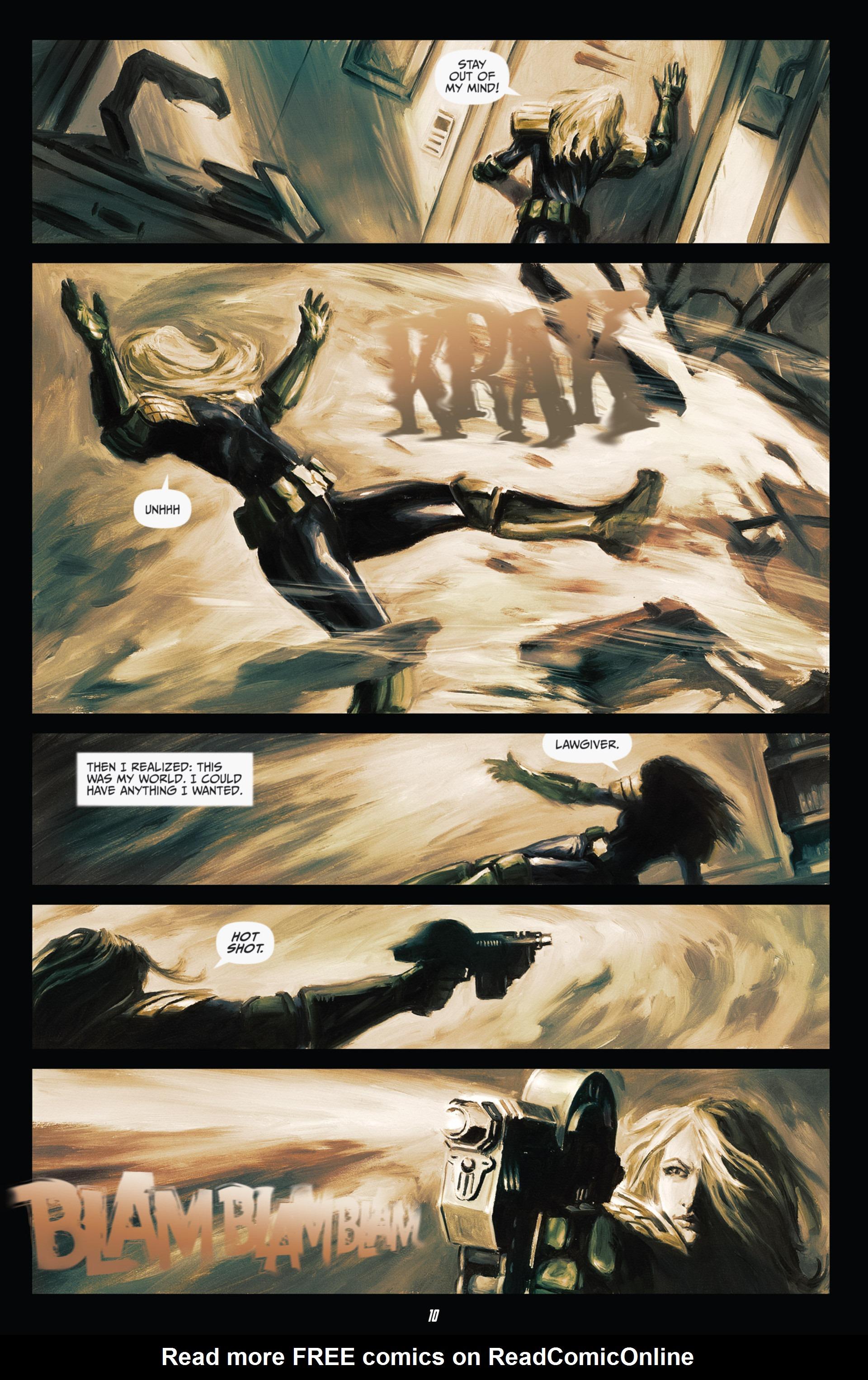 Read online Judge Dredd (2012) comic -  Issue #21 - 12