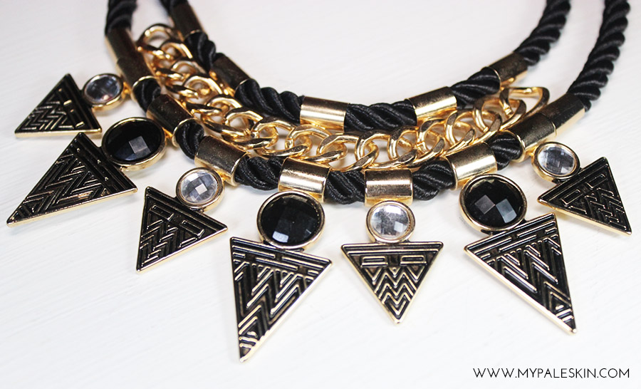 primark statement necklace haul