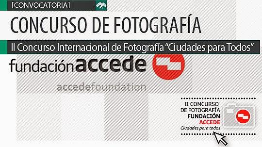 """Concurso de Fotografía. """"Ciudades para todos"""""""