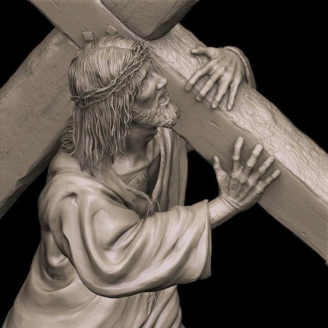 يسوع حامل الصليب
