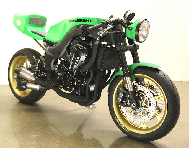 2012 Kawasaki Z1000 Cafe Racer | Modern Cafe Racer | Custom Motorcycle | Lossa Engineering