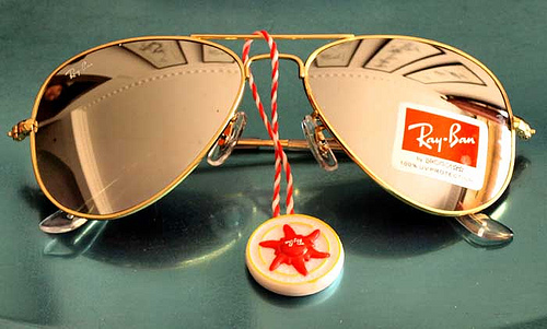 aviator ray ban gold  gold ray Archives