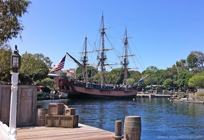 Columbia Sailing Ship Disneyland River