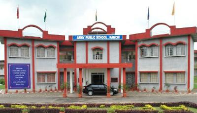 Army Public School Ranchi Building