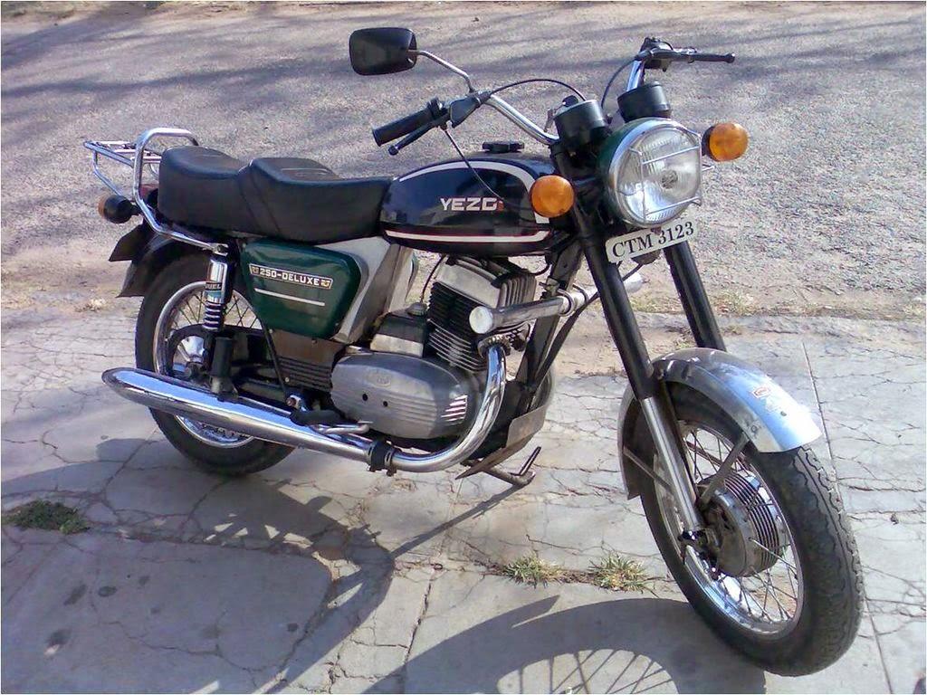 motocykl yezdi