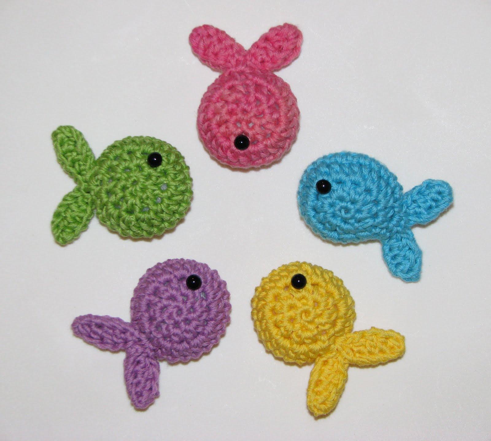 De Verlas Felices Con Su Pequeno Pez De Crochet Feliz Fin De Semana