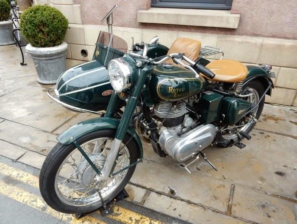 Mummy Returns 1939 Royal Enfield Bullet motorbike