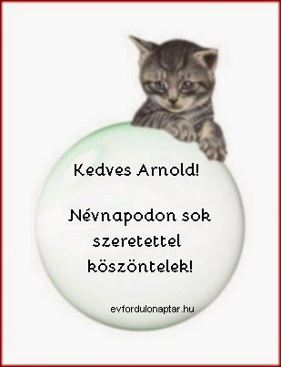 Június 18 - Arnold névnap